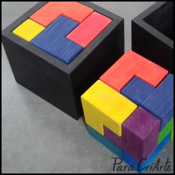 puzzle cubico cubo
