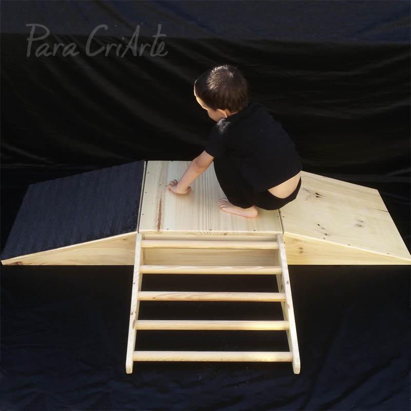 rampas y plataforma con peque